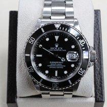 Rolex Vintage Submariner 16800 Steel Black Dial 1985-1986