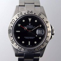 Rolex Explorer II 16570 Stainless Steel Black Dial Z Serial...