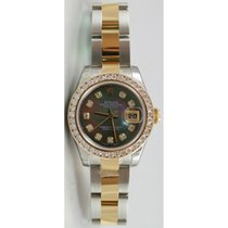 Rolex Datejust 179163 Lady's Stainless Steel & 18K...