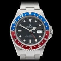 ロレックス (Rolex) GMT-Master II Pepsi Stainless Steel Gents 16710