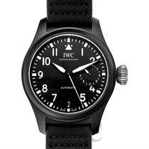 IWC Big Pilot's Watch Top Gun Black Ceramic/Leather 46mm -...