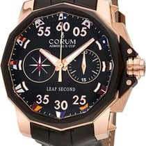 Corum 895.931.91/0001 AN42 Admirals Cup Leap Second in Rose...