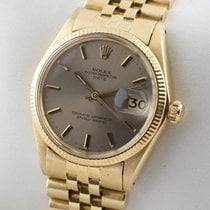 Rolex Oyster Perpetual Date 18K Gold  Automatic Service 08.2017