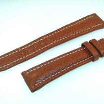 Breitling Band 20mm Brown Maron Calf Strap Ib20-11