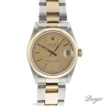 Rolex Datejust Midsize Gold/Steel