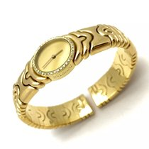 Bulgari Parentesi 18k Solid Yellow Gold Ladies Bracelet Watch...