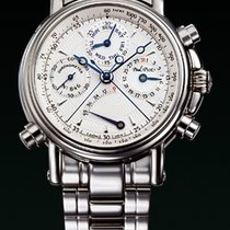 Paul Picot COLLECTION TECHINCUM White Gold-Silver Dial Steel...