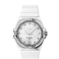 Omega constellation CONSTELLATION QUARTZ 35 MM Acero con...