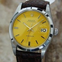 Rolex Oysterdate 1977 Precision 6694 Manual 34mm 5155641 Swiss...