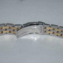 Breitling Pilot Armband Stahl/gold 20mm 300d Chronomat...