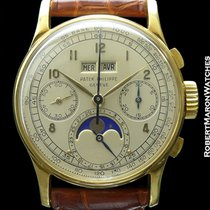 Patek Philippe 1518j 18k Perpetual Chrono-immaculate Condition...