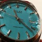 Rolex PRECISION 6694 SPECIAL BLUE DIAL & BRECELET