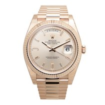 Rolex Day-date 18k Rose Gold Pink Automatic 228235PK