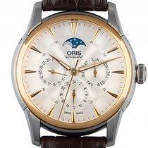 Oris Artelier Complication Mondphase Stahl Gelbgold Automatik...