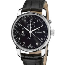 Eterna Soleure Moonphase Chronograph 42mm triple calendar Swiss