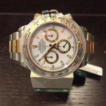 Rolex Cosmograph Daytona Steel/Gold White Dial 116503