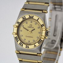 Omega Constellation Ladies Watch Diamond Dial 1270.15 Papers...