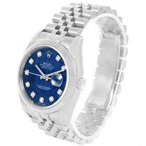 Ρολεξ (Rolex) Datejust Steel 18k White Gold Blue Sodalite...