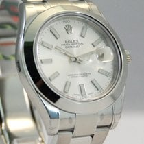 Rolex DateJust II Stainless Steel Silver Dial-116300