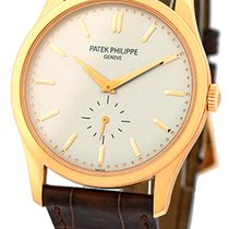 "Patek Philippe Gent's 18K Rose Gold  ""Calatrava"" #..."