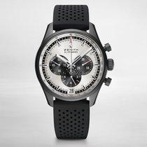 Zenith CHRONOMASTER  EL PRIMERO ceramicised aluminium-silver dial