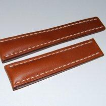 Breitling Kalbslederband für Faltschließe Braun 24-20 mm