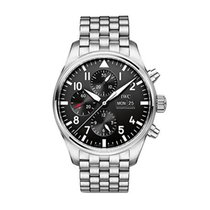 IWC PILOT'S WATCH CHRONO STEEL BRACELET
