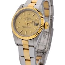 Rolex Used 791713_used_champ_stick 2-Tone 26mm Datejust with...