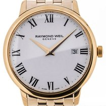 Raymond Weil Toccata 39 Yellow Gold White Dial