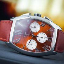 Longines Evidenza Chrono Brown