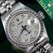 Rolex Women's Rolex Datejust 26mm Diamond Silver Metal...