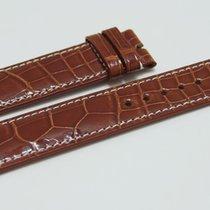 Rolex CROCO Lederband braun für Dornschließe 19/18 mm
