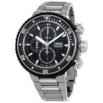 Oris ProDiver Chronograph Black Dial Automatic Men's Watch