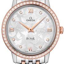 Omega DeVille Prestige Diamond Dial & Bezel Ladies Watch...