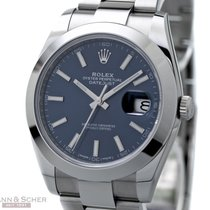 Rolex Datejust 41mm Ref-126300 Stainless Steel Box Papers...