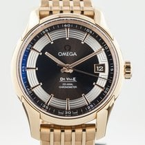 Omega De Ville Hour Vision Co-Axial Annual Calendar, 18K Rose...