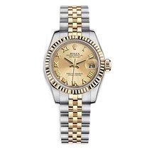 Rolex Oyster Perpetual Lady Datejust 179173/63133 esf dorada