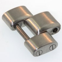 Breitling 865a Glied Link Steel Stahl Mattiert I037
