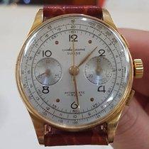 Chronograph Swiss Ultra Rare Oversize 37mm più corona Oro 18 kt