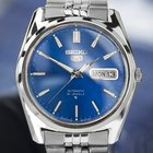 Seiko Vintage Day Date Automatic 21J, Blue Dial