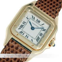 Cartier Santos Gelbgold Lady Watch Quarz
