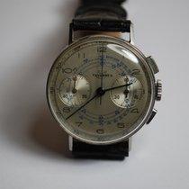 Tavannes Cronografo vintage anni 40 Landeron