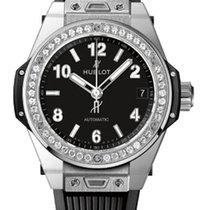 Hublot Big Bang 39mm One Click Steel Diamonds Automatic Watch
