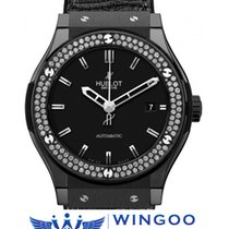 Hublot - Classic Fusion Ceramic Black Magic Diamond Ref....