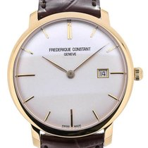 Frederique Constant Slim Line Automatic 40 Gold Plated Details
