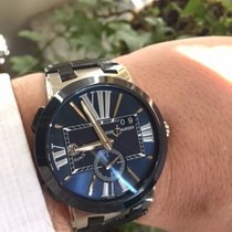 Ulysse Nardin Executive Dual Time Stainless Steel & Ceramic