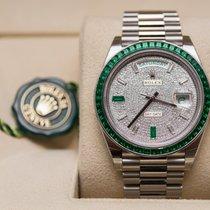 Rolex Day-Date Platinum Emerald