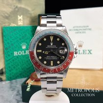 Rolex GMT-Master 16750 Pepsi Matte Dial / 1982 / Box and Papers