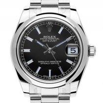 Rolex Datejust Medium Stahl Automatik Oyster Edelstahl Armband...