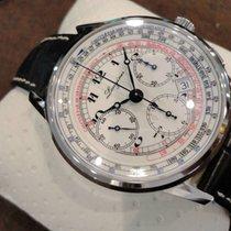 Longines Ungetragene Heritage Tachymeter Chronograph Automatik